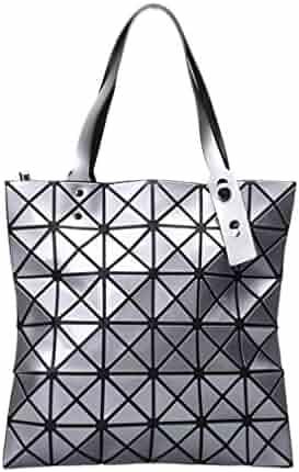 b98daf2bbb3e Japanese Women BAO BAO Bag Geometry Style Luxury Brand Ladies Shoulder Bags  Top Quality PU Leather