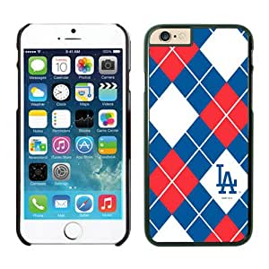 Iphone 6 Protective Skin Case,Los Angeles Dodgers TPU iPhone 6 4.7 inch Cover Cases 4 Black
