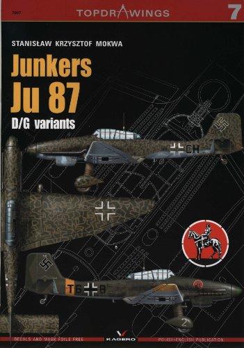 Junkers Ju 87 D/G variants (Top Drawings 7007)