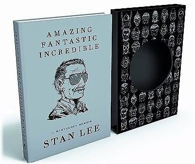 Amazing Fantastic Incredible Deluxe Signed Limited Edition AUTOGRAPHED BOOK Stan Lee