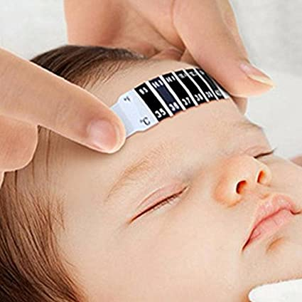 PhilMat Baby Forehead Strip Thermometer Fever Temperature Test