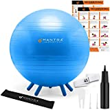 Yoga Ball for Kids Stability, Ideal Flexible