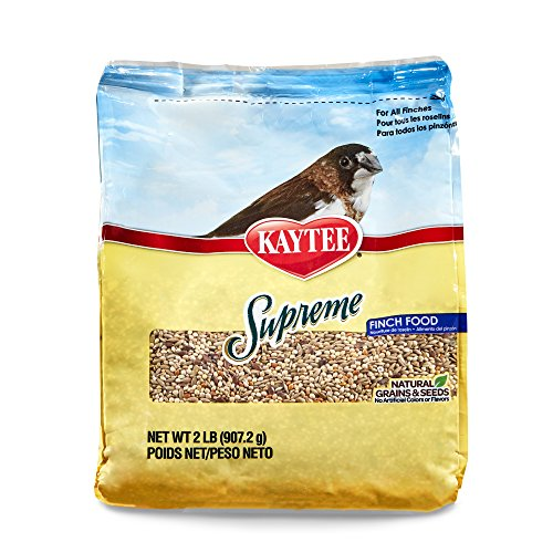 Kaytee Supreme Bird Food for Finches, 2-lb bag