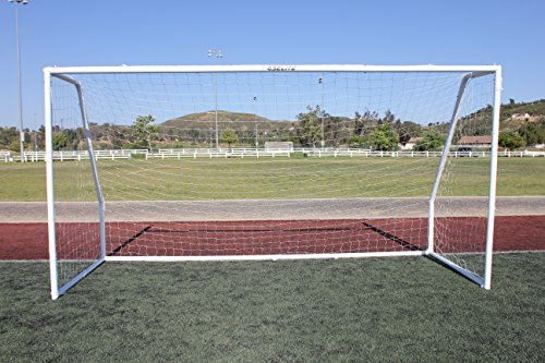 G3Elite Pro 6x4 Regulation Youth Soccer Goal (Discounted Less Than Perfect Item), (1) Net, Strongest Portable Steel Post Design w/Patented Corrosion Resistant Coating, 4 x 6, 6x4x2x4 Goal Post, Goalie by G3Elite