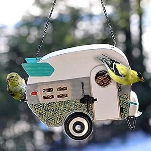 Camper de malla Retro Bird Feeder