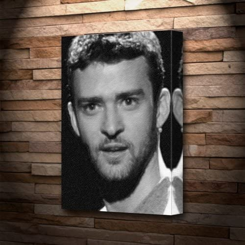 Canvas Justin Timberlake Art Print Poster