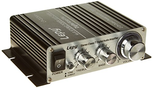 LEPY 2024A Plus Amplifier - Silver/Black