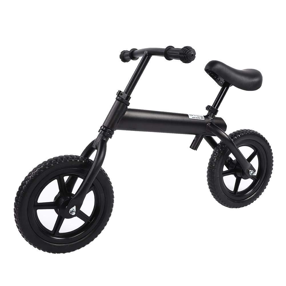 Bici per Bambini Balance, Pneumatici Anti-Scivolo Larghi No Pedale Bicicletta da Allenamento per Bambini Bilanciere Regolabile a Due Ruote per Bici e Manubrio per 3-6 Anni Bambino