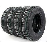 Pack of 4 ST225/75R15 Trailer Tires 10 Ply Load Range E Radial Tire 2257515