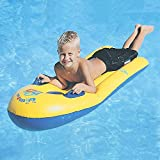 Inflatable Pool Float for Kids Children, Infant Baby Floats Swim Air Bed PVC Swimming Raft Bodyboard Fun Party Floating Mattress Surf Board With Handles Boys Girls Water Lounger Floats Sea Beach Toy