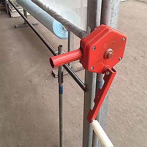 Agriculture solution Sidewall Manual Hand Crank Winch for Greenhouse Film Ventilation