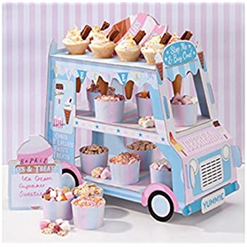 Talking Tables Ice Cream Party Decorations Ice Cream Cart Party Decor Great For Kids Party Birthday Party And Summer Decor Paper