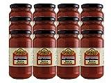 Sugo ai Peperoni BIO (Organic Sweet Pepper Tomato Sauce) by Spinosi (Case of 12 - 12 Ounce Jars)