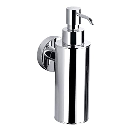 Orion Wall Mounted Soap Dispenser Chrome Amazoncouk Diy Tools