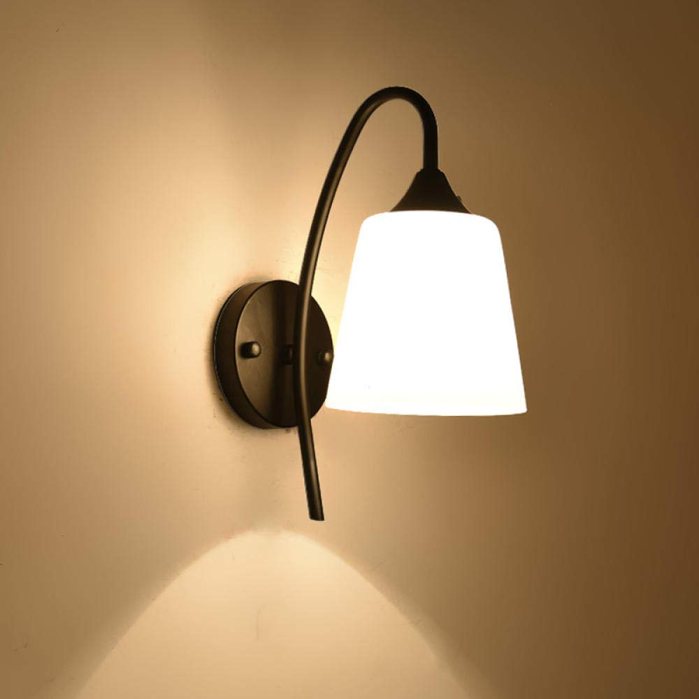 3D Nachtlicht Wohnzimmer Schlafzimmer Nachtwandleuchte Kreative Flur Treppe Ganglicht Einfache Schmiedeeisen Retro Lampe @ B052-1 Senden Led-Lichtquelle