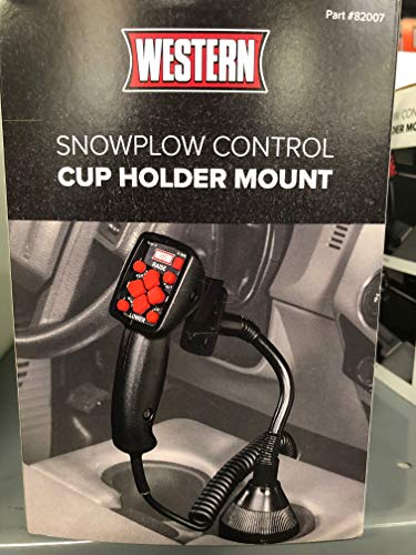 Snow Plow Control Cup Holder Mount for Western or Fisher Snow Plow Controllers