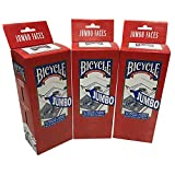 Bicycle Jumbo Playing Cards 3-pack (36 Decks)
