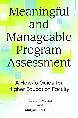 Meaningful and Manageable Program Assessment: A How-To Guide for Higher Education Faculty