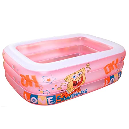 Piscina inflable, Familiar De Tres Anillos, Bañera Inflable ...