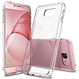 Galaxy A8 Case, Ringke [FUSION] Crystal Clear PC Back TPU Bumper [Drop Protection/Shock Absorption Technology] Raised Bezels Protective Cover For Samsung Galaxy A8 2016 - Crystal View