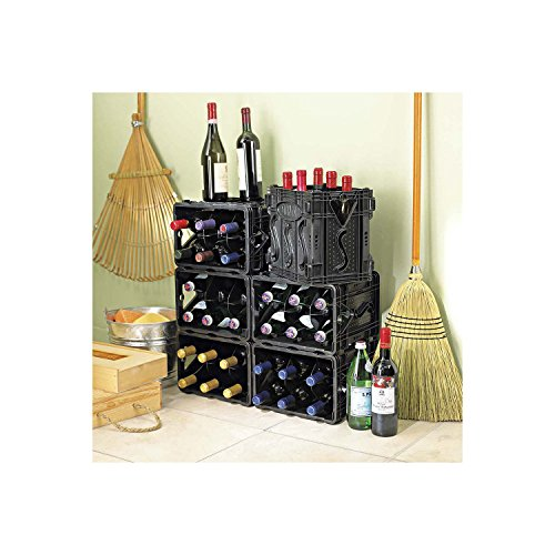 STORViNO Nero Wine Storage Container - Wine Storage Container