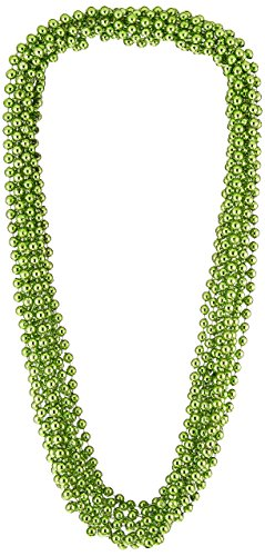 (Party Beads - Small Round (lt green)    (12/Card))