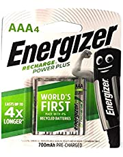 Energizer Recharge Universal NH12URP4 AAA (Packaging may vary), 4ct
