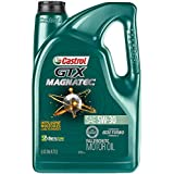 Castrol 03057 GTX MAGNATEC 5W-30 Full Synthetic Motor Oil, Green , 5 Quart