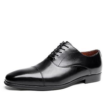 LXMEI Zapatos formales para hombre, traje, vestido, zapatos ...