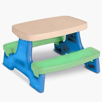 Pleasant Amazon Com Nakshop Kids Foldable Table Set For Picnic Download Free Architecture Designs Scobabritishbridgeorg