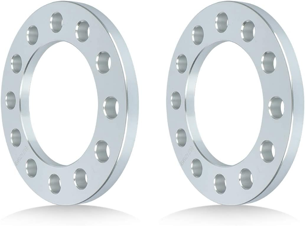 IRONTEK 1//2 12mm Thickness 6x135mm Wheel Spacers Hub Bore 108mm for Ford F150 Trucks Expedition for Chevrolet Silverado 1500 C2500 K1500 Tahoe 2PCS