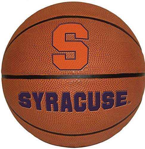 (8 Inch Syracuse Orange Basketball University SU Logo Removable Wall Decal Sticker Art NCAA Home Room Decor 8 by 8 Inches)