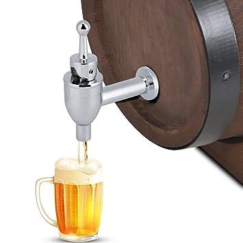 ANKKIRO- Grifo dispensador de bebidas de cobre de repuesto para zumo y bebidas frías, grifo de cerveza de vino: Amazon.es: Bricolaje y herramientas