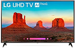 LG 55UK6300PUE 55-Inch 4K Ultra HD Smart LED TV (2018 Model)