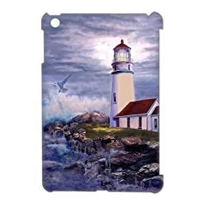 ANCASE Lighthouse Pattern 3D Case for iPad Mini