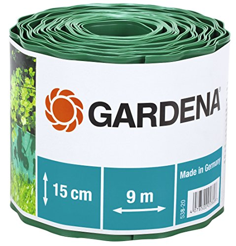 Lawn Edging 5.9in/9.84Yd in Green
