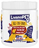 LIVANOPET 5-1 All-in-One Dog Soft Chew Vitamin Mineral Supplement, German Brand
