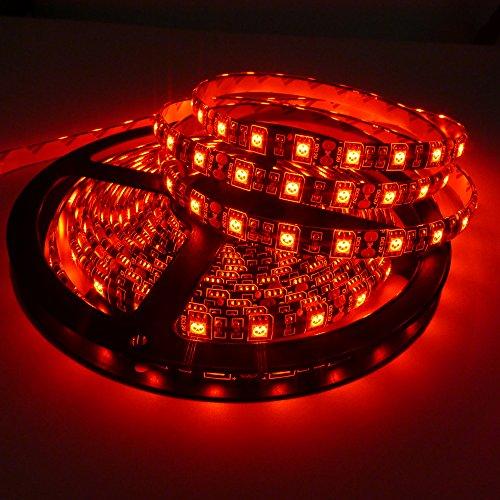 1-5m Waterproof Car Light Flexible strip Light Black PCB 5050 SMD Lamp tape 12V