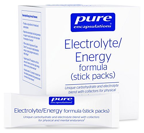 Pure Encapsulations - Electrolyte/Energy Formula - Provides a Balanced Mix to Optimize Physical and Mental Stamina* - 30 Stick Packs