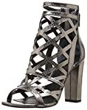 Guess Women's Eriel2 Dress Sandal, Pewter, 7.5 M US