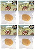 Zoo Med All Natural Hermit Crab Sea Sponge (4 Pack)