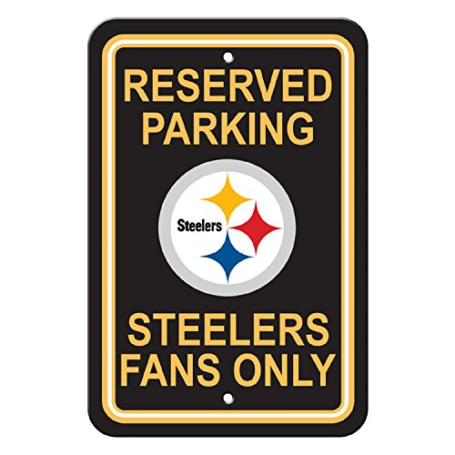 Flagpole To Go NFL Pittsburgh Steelers Parking Sign