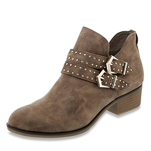 s.Oliver Stiefelette Taupe