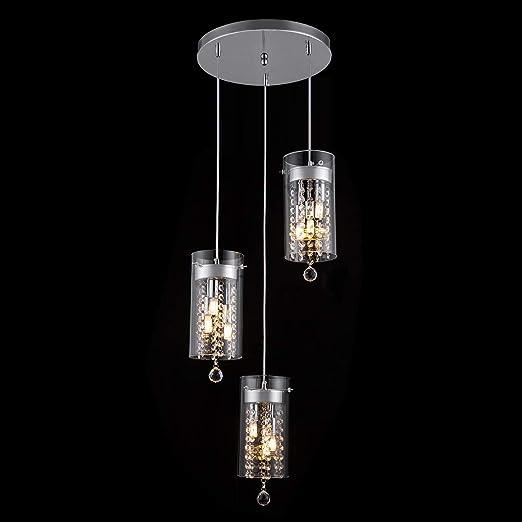Amazon.com: Lámpara de techo con 3 luces opcionales., 81.00 ...