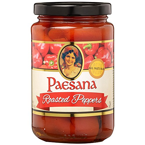 Fire Red Pepper (Paesana Fire Roasted Peppers, 12 Ounce)
