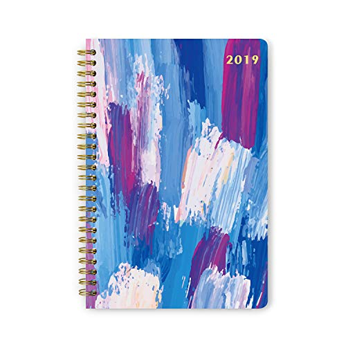 """2019 Planner Weekly Monthly Yearly Hardcover Schedule Organizer Agenda Book  (Nov 2018 –Dec 2019) 5.5 x 8"""""""