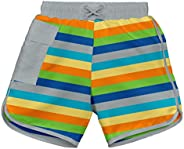 I-Play Baby-Boys Baby Pocket Board Shorts W/Built-in Absorbent Swim Diaper - Mm