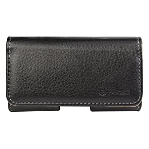 Evecase® Premium Horizintal Leather Pouch Carrying Case for Samsung Galaxy Ace 2 I8160