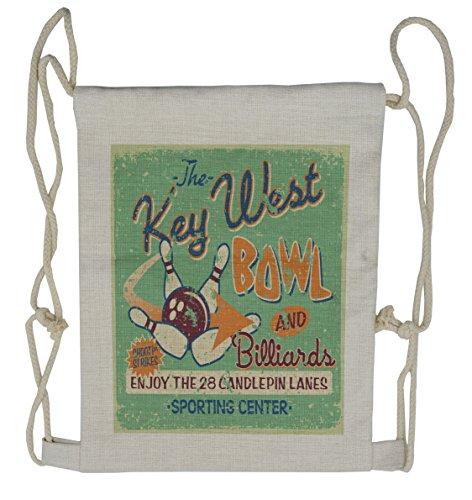 Ambesonne Teal Gym Bag Large Weekender Carry-on Vintage Back Door Theme