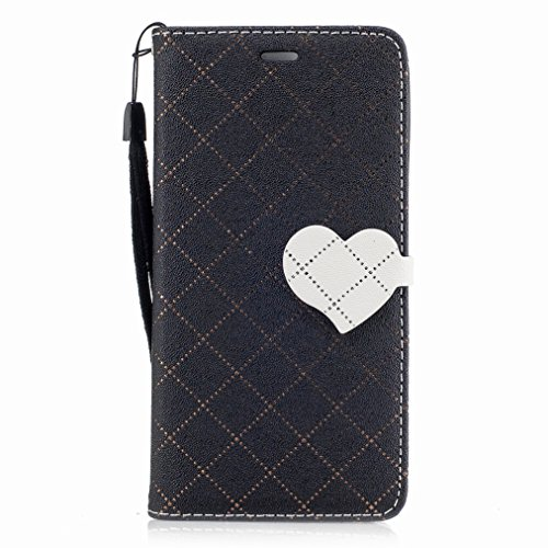 Ranura 2 Yiizy Estilo Carcasa Y5ii Para Diseño Cáscara Y5 Huawei Honor Protector Cover Piel Tarjetas Estuches Funda Play Cuero 5 Amar negro Pu Billetera CwqHpwtx